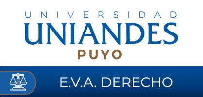 Entorno Virtual de Aprendizaje Derecho UNIANDES Puyo